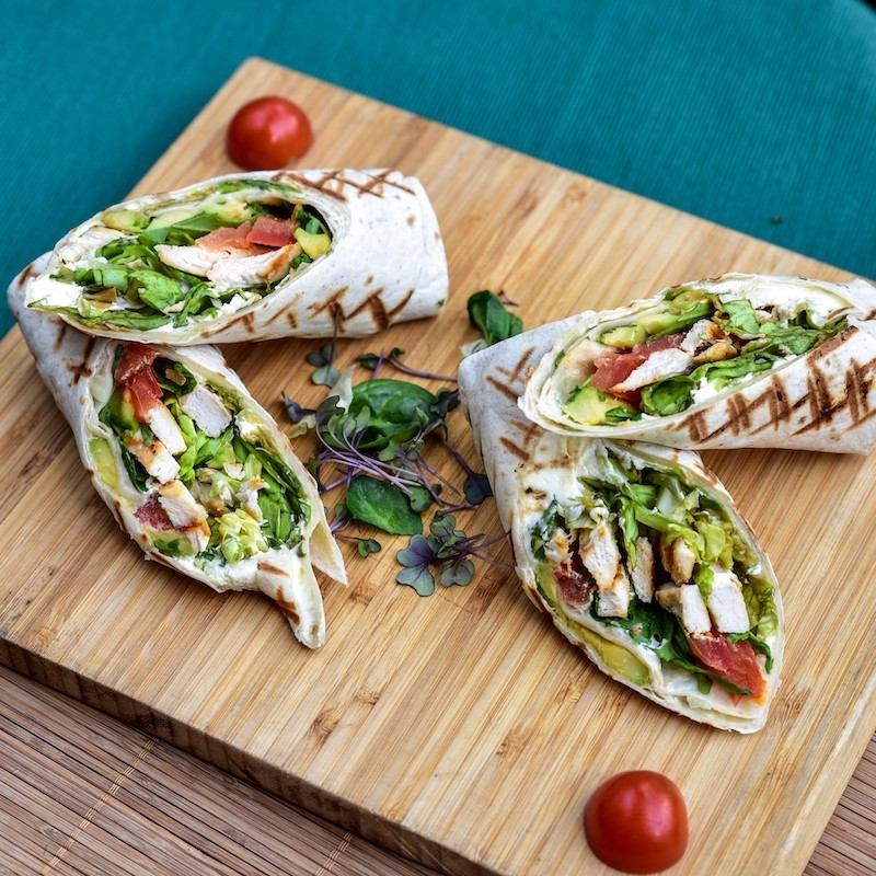 Chicken wrap (400 g)
