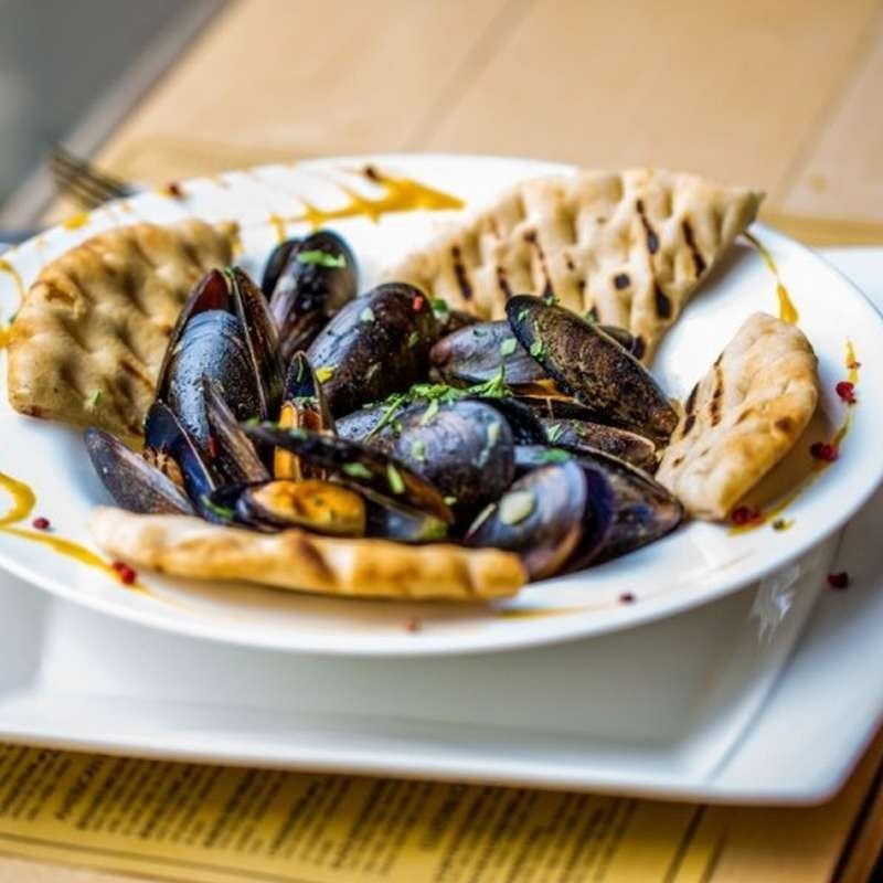 Sauteed mussels (600 g)