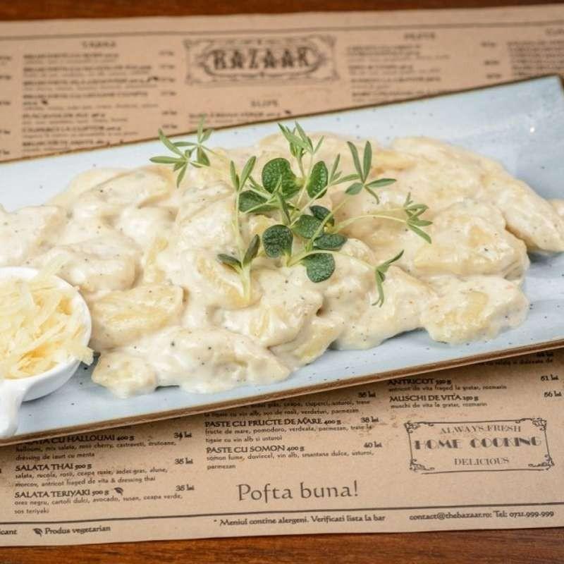 Gnocchi with gorgonzola...