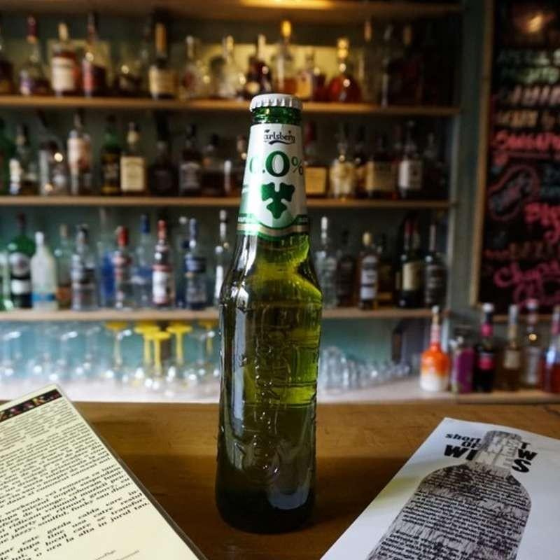 Carlsberg non alcoholic...