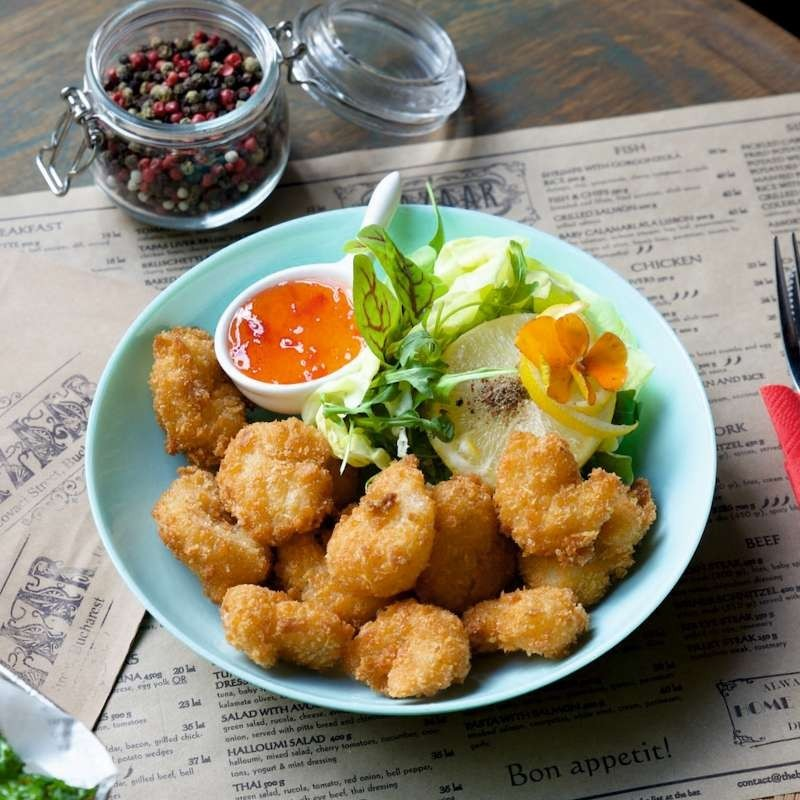 Fried shrimps (300 g)
