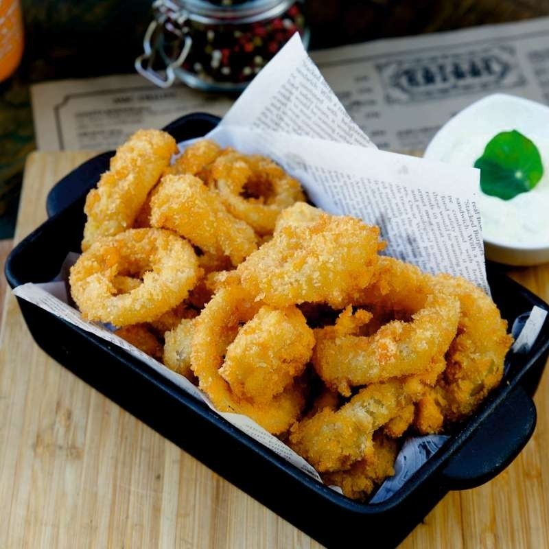 Crispy onion rings  (250 g)