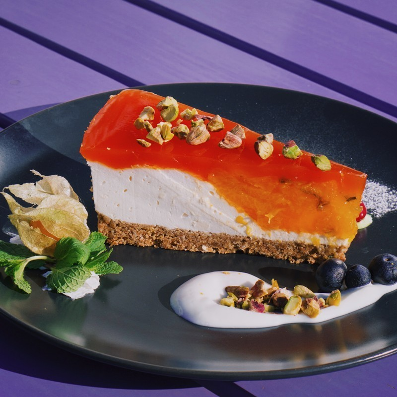 Cheesecake de mandarine si...